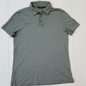 Marc Anthony Green Medium Fitted Polo Shirt